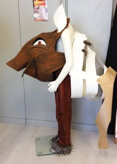 Warthog Pumba costume