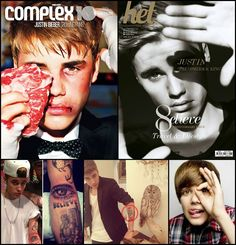 Justin Bieber, who's grown to become a pop culture icon and bonafide megastar, is notorious for promoting occult symbolism throughout his promotional photos, magazine covers, music videos, merchandise and tattoos. As one of the youngest and most popular overnight success stories, there's little doubt that this former child-star has been a longtime victim of MK-Ultra mind control implemented through Monarch Programing which includes trauma-based depersonalization and ritualistic sexual abuse.