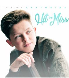 "Pre-order my new single, ""Hit or Miss"" this Monday! Or you can download it on July 25th! Thank you for all the support!!! Check out the cover art on my Instagram (JacobSartorius)"