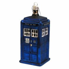 Doctor Who 4.25-inch TARDIS Figural Christmas Tree Ornament: Amazon.ca: Home & Kitchen for Glenn