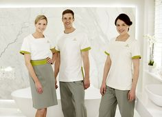1000 images about hotel uniform on pinterest spa for Spa housekeeping uniform