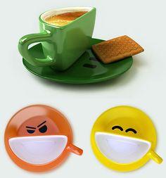 Smile cup, Ukranian designers at Studio Psyho