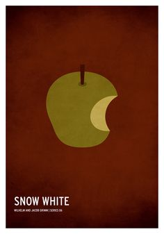 Snow White | 19 Minimalistic Posters Of Your Favorite Childhood Stories