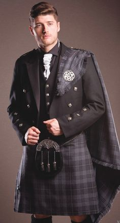 irish kilt formal wear - Google Search