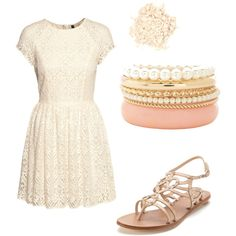 Maybe add a bit of pastels, and this dress would be great for Easter