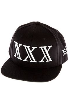 XXX Snapback (Black)