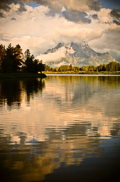 Oxbow Bend - Grand Teton National Park, Wyoming.