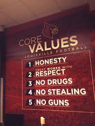 Louisville Football - Core Values Louisville Football, University Of Louisville, Football And Basketball, Football Program, Charlie Strong, St Louis Baseball, Class Of 2018, My Old Kentucky Home, Being Good
