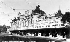Niterói 1950 Estação das Barcas