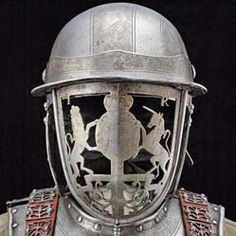 Harquebusier armour belonging to King James II, England. (1686) Courtesy Royal Armouries