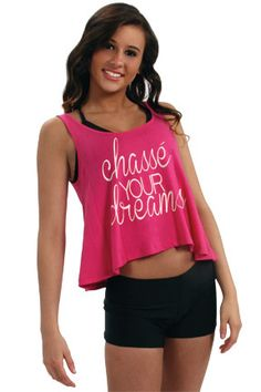 Chasse Your Dreams Pink Crop Tank - Heart and Soul Fashion