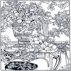 detailed christmas coloring pages abstract coloring pages for adults and artists coloring pages trend - Detailed Christmas Coloring Pages