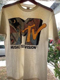 RARE 1991 MTV NYC Vintage Rock Hip Hop TV T Shirt XL 80s 90s Yo MTV Raps | eBay