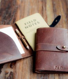 Put this fine moleskin ledger in the hand of your groomsman and you're likely to empower him to keep his own captain's log. It's likely that he'll start taking those deep inner thoughts to the pen and