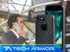 Win an iPhone 7 in Matte Black with a Tech Armor Ultimate Protection Bundle!