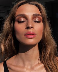 "3,145 Likes, 57 Comments - Max May (@maxmade) on Instagram: ""Catching those last #sunset rays never felt or looked so good @nathaliesinkvist ☀️☀️☀️…"" #makeup"