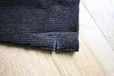 repurposed wool sweater fingerless gloves (tutorial)