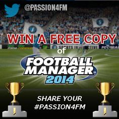 Join Passion4FMs #FM14 Giveaway - Win a free copy of football Manager 2014 - http://www.mypassion4footballmanager.com/2013/10/giveaway-win-football-manager-2014-for-free.html