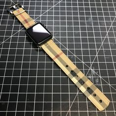 2417211e4e8773 Who loves Burberry? The Burberry Apple Watch Band. Custom Key Features: 1.