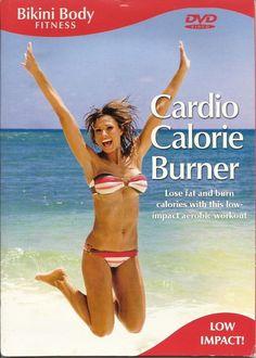 BIKINI BODY FITNESS CARDIO CALORIE BURNER AEROBIC EXERCISE WORKOUT DVD - NEW