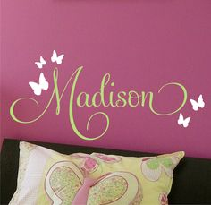 Name Wall Art - This is too cute