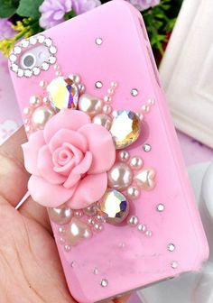 iPhone case, pink flowers Girly Phone Cases, Cool Iphone Cases, Ipod Cases, Diy Phone Case, Samsung Cases, Iphone Hard Case, Iphone 6 Plus Case, Iphone Phone Cases, Phone Covers