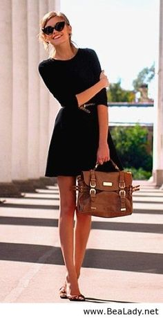 Classic style - Black outfit
