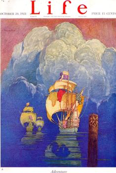 Life 1921-10-20. Artist: Franklin Booth