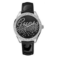 Montre Guess W60006L5 - femme  - marque : Guess Montres Retrouvez les meilleures montres Guess: Montre Guess W60006L5 - femme Little Party Girl silver & black patent strap    Type : Montre  MARQUE : Guess  Genre : Femme  Style : Mode  A... prix : 125.00 €  chez Bijourama #GuessMontres #Bijourama
