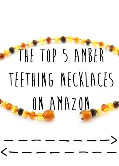Quirky Bohemian Mama: The top 5 amber teething necklaces on Amazon {natural baby, under $30}