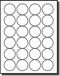 Eu Mm Circle Blank Label Template  Etiquetas