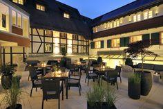 Innenhofterrasse - Sonne genießen - Außenbereich - Hotel Ritter Durbach