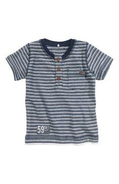 De lækreste Name it T-shirt Gedward mini Mørkeblå Stribet Name it T-shirt til Børn & teenager til enhver anledning