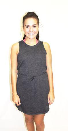 Chaser Twisted Back Black Dress