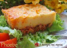 Shepherds pie - Πουρές πατάτας με κιμά στο φούρνο #sintagespareas