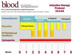 Hemophagocytic syndrome: protocol HLH-04