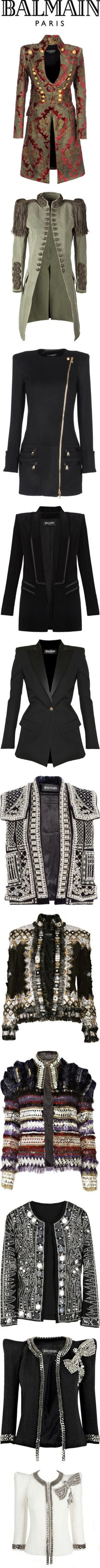 """Balmain"" by redflowergirl ❤ liked on Polyvore"