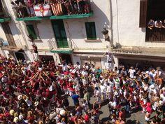 4 pilars saludant: castellers, Moixiganga, Pastorets i Cercolets !