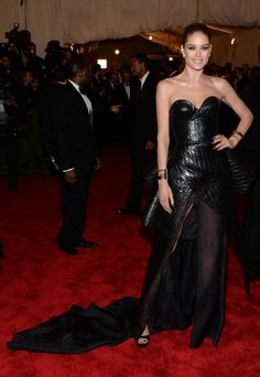 Leather!  Met Gala 2013: See All the Red Carpet Looks - The Cut
