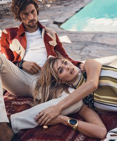 Fashion Friday! Get your inspiration for your weekend wear from our spring editorial in Luxury Magazine. #inspo #inspiration #fashion #friday #friyay #editorial #tomford #simonmiller #polo #ralphlauren #bottega #prada #paulamendoza #style #ootd #spring #layers #dress #weekend #wear #model #luxury #luxurycard #luxurymagazine  Photo: Dean Isidro Stylist: Christopher Campbell Model: Wouter Peelen and Megan Williams