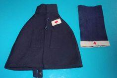 TENUE-INFIRMIERE-BLEUETTE-GAUTIER-LANGUEREAU-Mod-CROIX-ROUGE-1938-1939
