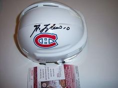 Guy Lafleur Canadiens,hof Jsacoa Signed Mini Helmet - Autographed NHL Mini Helmets *** Click on the image for additional details.