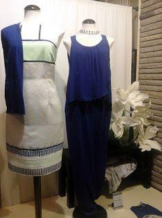 PILAR SATUE moda (Graus): El azul...infunde calma y serenidad