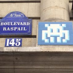 Shared by dokin_grenoble #spaceinvader #unas (o) http://ift.tt/1NiNamZ 30pts the newest! #paris