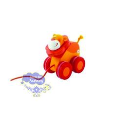 Puxando o Leãozinho, Puxando o Leãozinho Plan Toys, Puxando o Leãozinho Sevi, Brinquedos Educativos, Brinquedos de Madeira, Brinquedos de puxar, Brinquedos