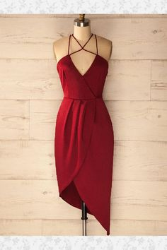 Homecoming Dresses Sexy #HomecomingDressesSexy, Burgundy Prom Dresses #BurgundyPromDresses, Sexy Prom Dresses #SexyPromDresses, Burgundy Homecoming Dresses #BurgundyHomecomingDresses, Prom Dresses 2019 #PromDresses2019, Short Prom Dresses #ShortPromDresses
