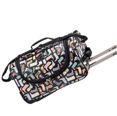 dream rolling duffel bag