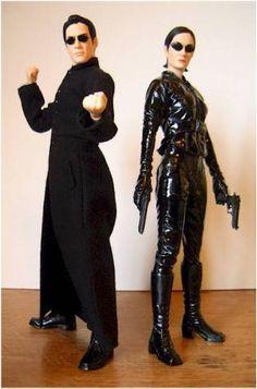 Neo & Trinity - The Matrix Hot Halloween Costumes, Halloween Inspo, Halloween Carnival, Costume Makeup, Cosplay Costumes, Diy Costumes, Trinity Matrix Costume, Fancy Dress, Dress Up