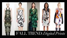 Fall Trend: Digital Prints   #wearthisnow #bluefly
