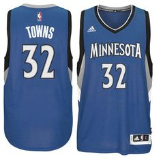 adidas Karl-Anthony Towns Minnesota Timberwolves Blue Swingman Jersey #timberwolves #twolves #nba